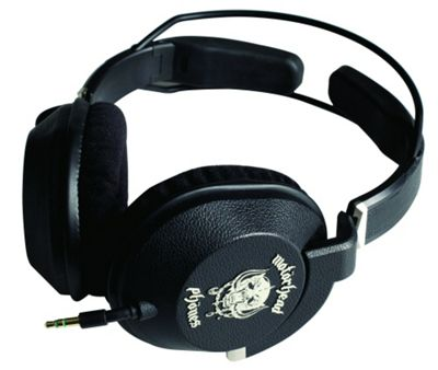 MotorHeadphones Motorizer Headphones - Black