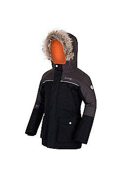 Regatta Paxton Hooded Parka Jacket - Black