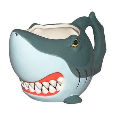 Puckator Shark Shaped Mug
