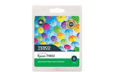 Tesco E1802 Printer Ink Cartridge Cyan