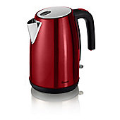Swan-SK23030RN Bullet Kettle with 1.7L Capacity and 3000W Power in Red
