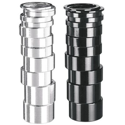 1' Alloy Spacers - 5mm Silver