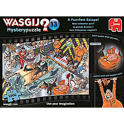 Wasgij Mystery 13 - A Puuurfect Escape - 1000pc Puzzle