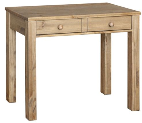 Hacienda Waxed Pine Console Table