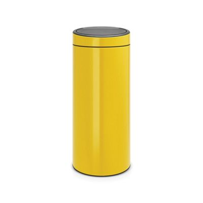 Brabantia Touch Bin New, 30L, Daisy Yellow
