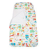 The Gro Company Gro To Bed Bedding Set - Going To The Zoo (Single Bed) - Multi
