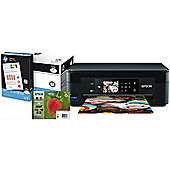 Epson Expression Home XP-442 All-in-One Wi-Fi Printe + Extra Inks + Paper Bundle