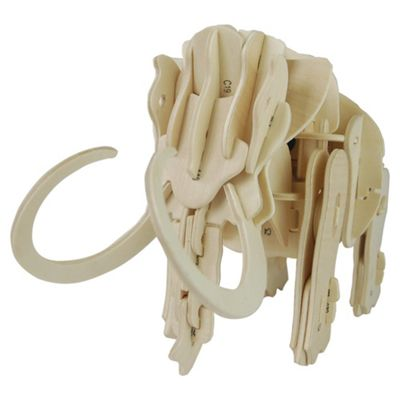 Robotic Mammoth Wooden Craft Kit