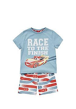 Disney Pixar Cars Lightning McQueen Shorts Pyjamas - Red