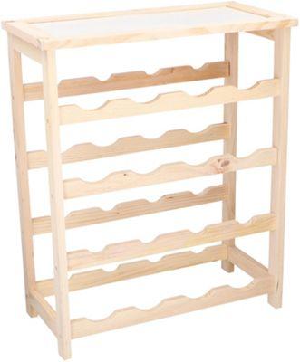 Wooden Wine Rack 16 Bottles