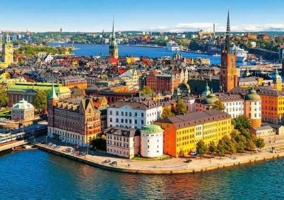 Old Town of Stockholm, Sweden - 500pc Puzzle