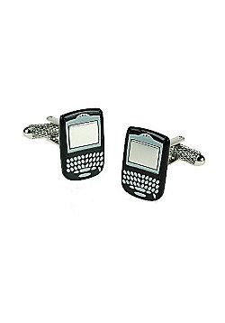 Blackberry Style Phone Novelty Themed Cufflinks