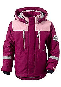 Didriksons Hamres Girl's Ski Jacket - Dark Lilac - Purple
