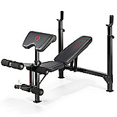 Marcy Eclipse BE5000 Olympic Weight Bench With Rack