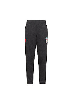 Liverpool FC Boys Slim Fit Jog Pants - Grey