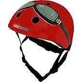 Kiddimoto Helmet Medium (Red Goggle)