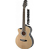Stagg SA40 Mini Jumbo LH Electro Acoustic Guitar