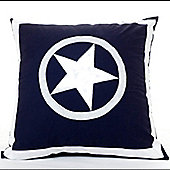 Navy Stars Children's Cushion