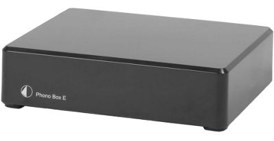 Project Phono Box E MM Turntable Pre-Amplifier (Black)