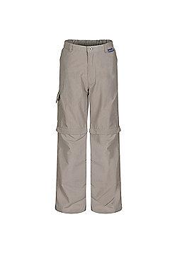 Regatta Kids Sorcer Zip Off Trousers - Beige