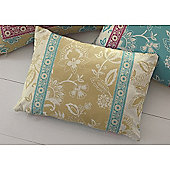 Dreams n Drapes Marinelli Cushion Cover - Teal 38x28cm