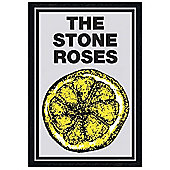 The Stone Roses Black Wooden Framed Lemon Poster