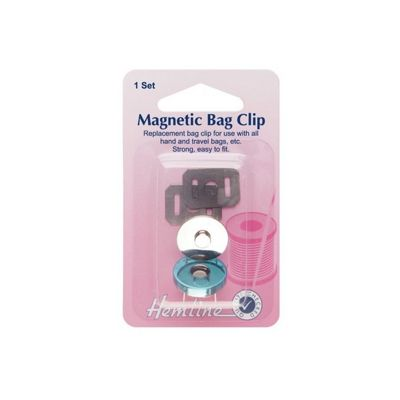 Hemline Magnetic Bag Clip 32mm