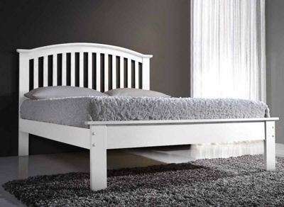 Ultimum Leeswood 3ft Single White Bed