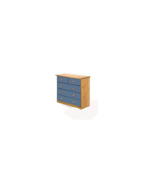 Verona Verona 2 Over 3 Drawer Chest - Blue