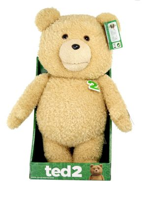 TED 2 16-Inch Explicit Animated Plush with Sound - Soft Toys