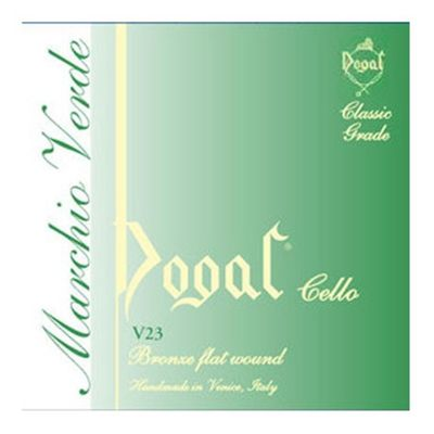 Dogal V23A Green Series Cello String Set - 4/4 to 3/4
