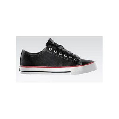 Plan B The Classic Black/Red Canvas Shoe
