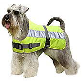 Flectalon Hi Viz Dog Coat Blue 55cm