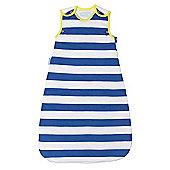 Grobag Baby Sleeping Bag - True Blue Stripes 1.0 Tog (6-18 Months)