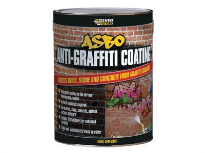 Everbuild Asbo Anti-Graffiti Coating 5 Litre