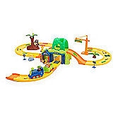 Big Zoo Train Playset