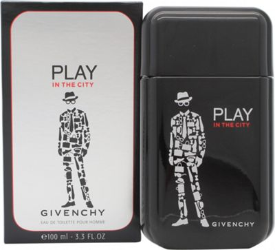 Givenchy Play in the City for Him Eau de Toilette (EDT) 100ml Spray For Men