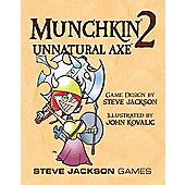 Munchkin 2 Unnatural Axe colour Edition
