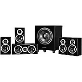 Wharfedale DX1SE 5.1 Home Cinema Speaker System (Gloss black)