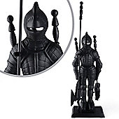Black Knight Cast Iron Fireplace Tool Set