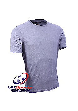 "Canterbury ""Coolers"" Short Sleeve Grey Crew T-Shirt - Grey"
