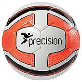 Precision Santos Midi Training Ball White/Fluo Orange
