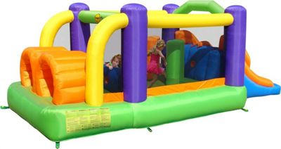 Obstacle Course Bouncy Castle - Rideontoys4u