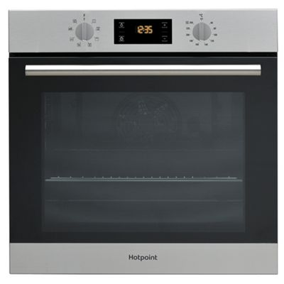 Hotpoint Class 2 Electric Built In Single Oven SA2 540 H IX - Stainless Steel