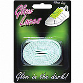 Green Glow in the Dark Shoe Laces