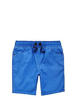F&F Pull-On Drawstring Shorts - Cobalt blue