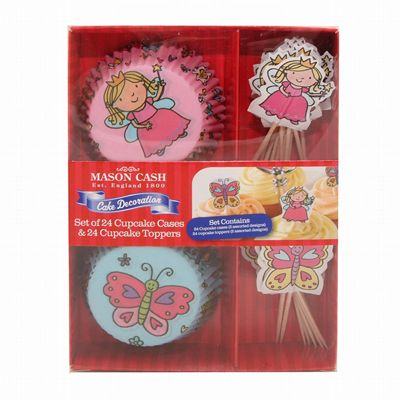 Mason Cash Princess Cup Cases and Topper, Set of 24