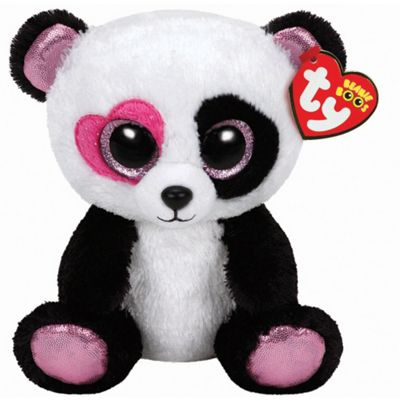 TY Beanie Boo Plush - Mandy the Valentines Panda