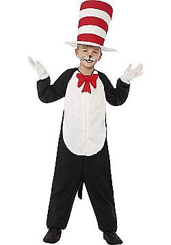 Cat in The Hat Children's Costume - Black & White
