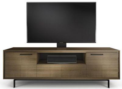 BDI SIGNAL 8329 Natural Walnut TV Cabinet